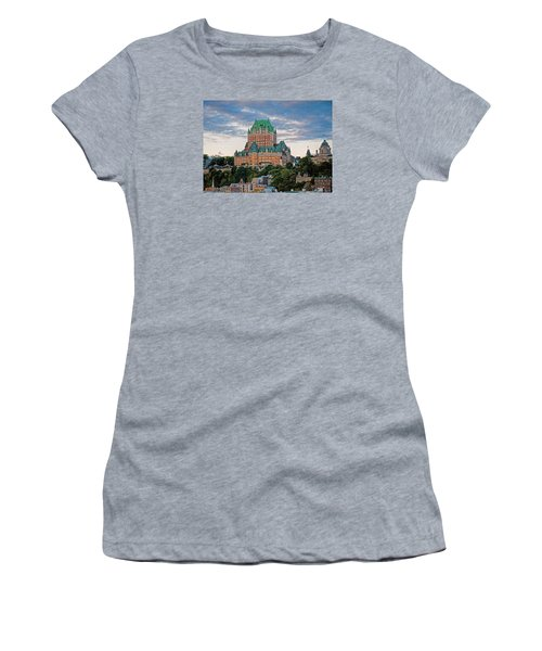 Fairmont Le Chateau Frontenac  Women's T-Shirt (Athletic Fit)