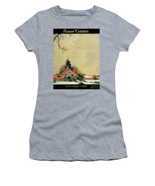 House And Garden Annual Building Number Cover Women's T-Shirt