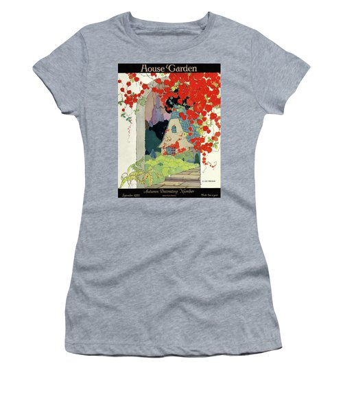 House And Garden Autumn Decorating Number Women's T-Shirt