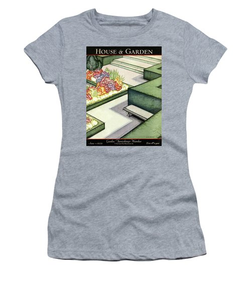 House And Garden Garden Furnishings Number Cover Women's T-Shirt