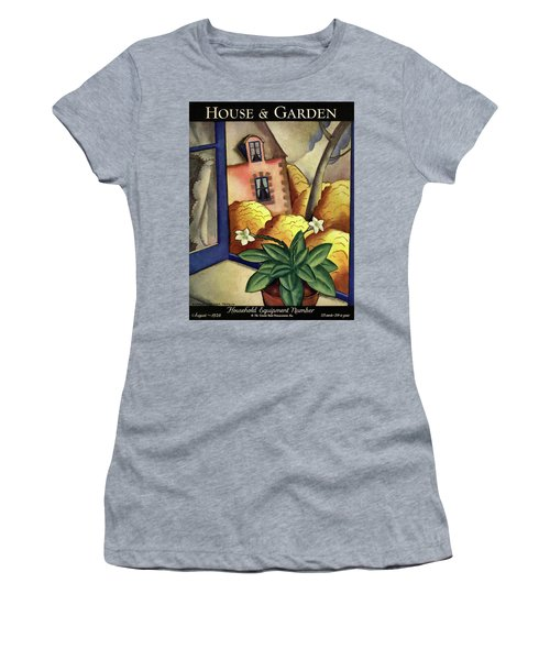 House And Garden Household Equipment Number Cover Women's T-Shirt