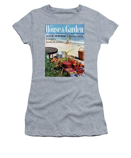 House And Garden Ideas For Summer Issue Cover Women's T-Shirt