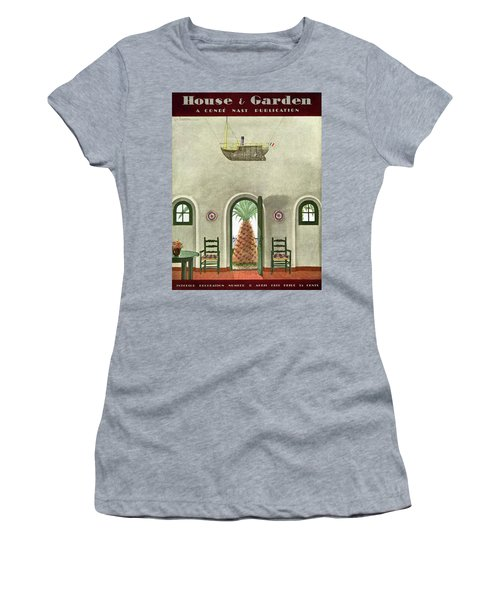 House And Garden Interior Decoration Number Cover Women's T-Shirt