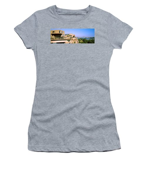 Housing Complex With A Bridge Women's T-Shirt