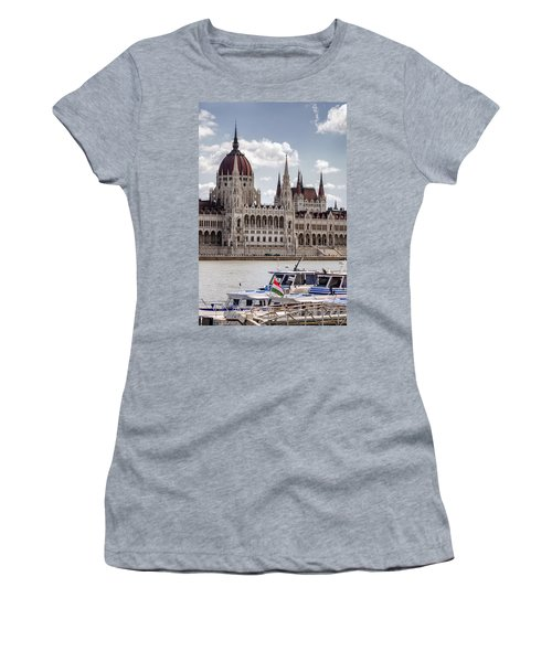 Hungarian Parliament Across The Danube Women's T-Shirt