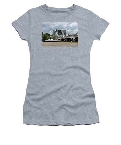 Hungerford Bridge And Charing Cross Women's T-Shirt