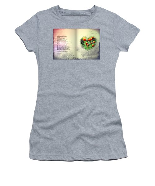 I Carry Your Heart With Me  Women's T-Shirt