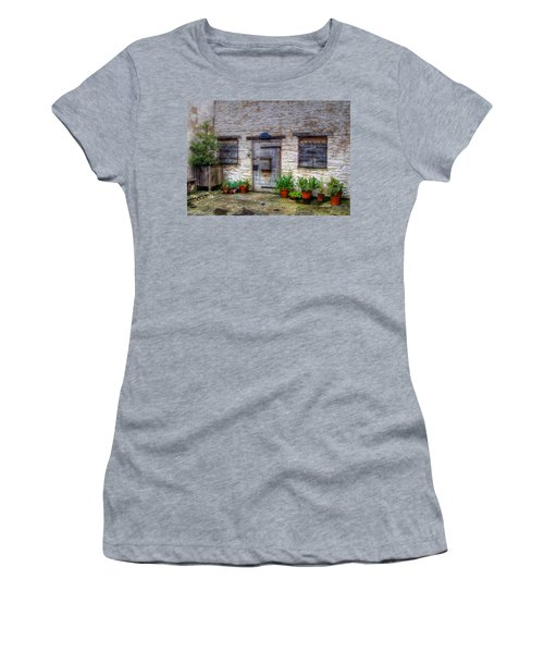 Women's T-Shirt (Junior Cut) featuring the photograph I Miss Home by Doc Braham