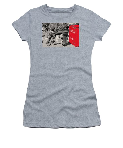 Ice Cold Drink Women's T-Shirt (Athletic Fit)