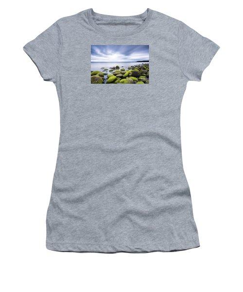 Iceland Tranquility 3 Women's T-Shirt (Junior Cut) by Gunnar Orn Arnason