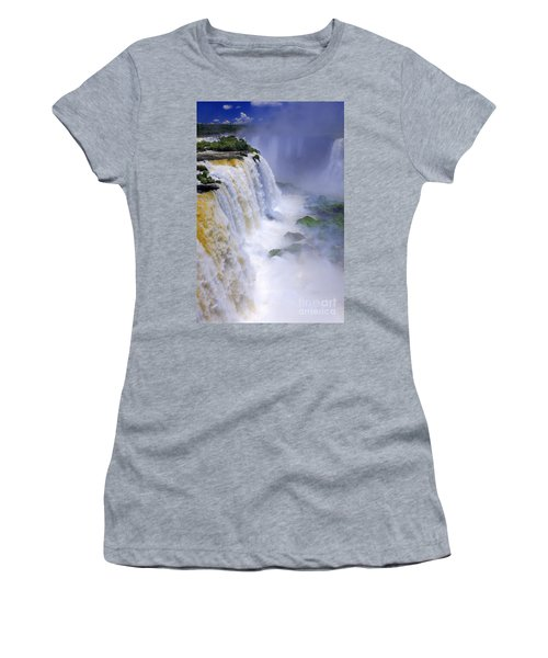 Iguazu Falls IIi Women's T-Shirt (Athletic Fit)