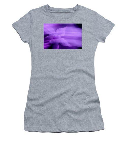 Imagination In Purple Women's T-Shirt