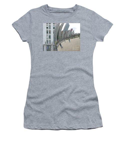 Imaging Chicago Women's T-Shirt (Junior Cut) by Ann Horn