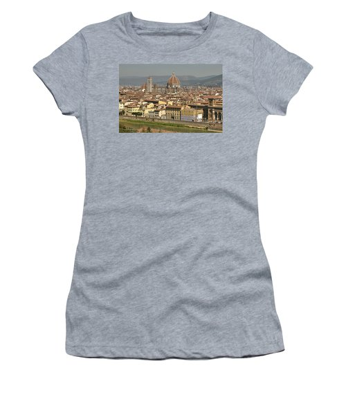 In Love With Firenze - 2 Women's T-Shirt (Athletic Fit)