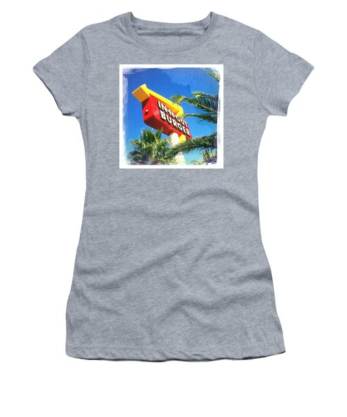 In-n-out Burger Women's T-Shirt (Athletic Fit)