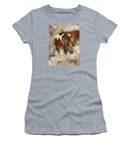 In Stores Only Women's T-Shirt (Junior Cut) by Barbie Batson