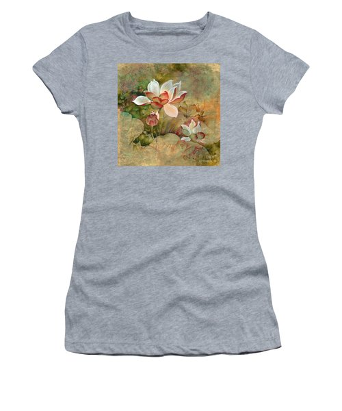 In The Lotus Land Women's T-Shirt
