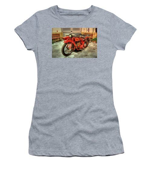 Indian Motorcycle With Sidecar Women's T-Shirt