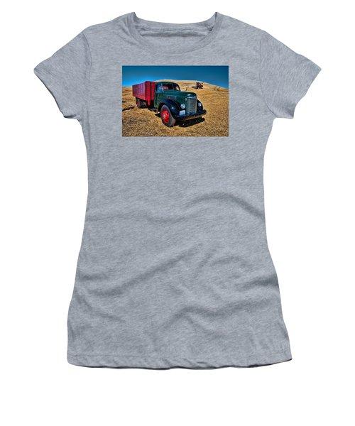 International Farm Truck Women's T-Shirt (Athletic Fit)