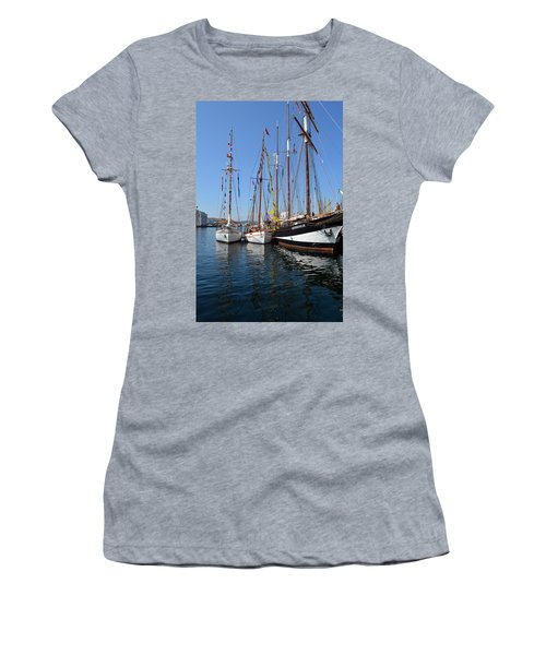 International Sailing Festival In Bergen Norway 2 Women's T-Shirt (Athletic Fit)