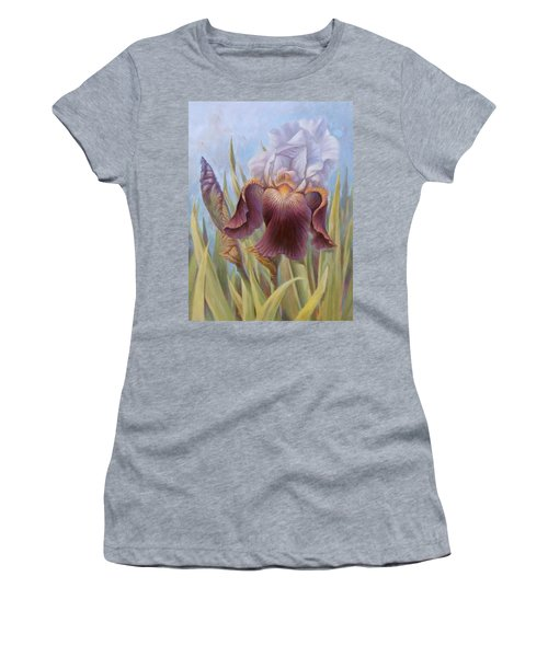 Iris 1 Women's T-Shirt (Athletic Fit)