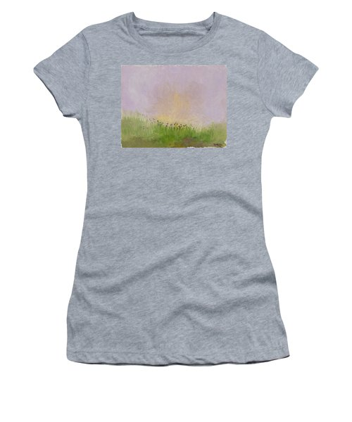Iris Field Women's T-Shirt (Athletic Fit)