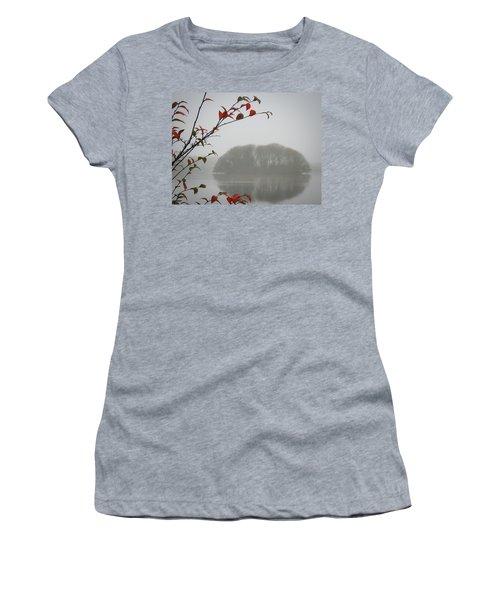 Irish Crannog In The Mist Women's T-Shirt