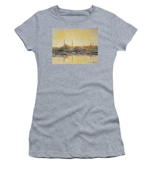 Istanbul- Hagia Sophia Women's T-Shirt (Athletic Fit)