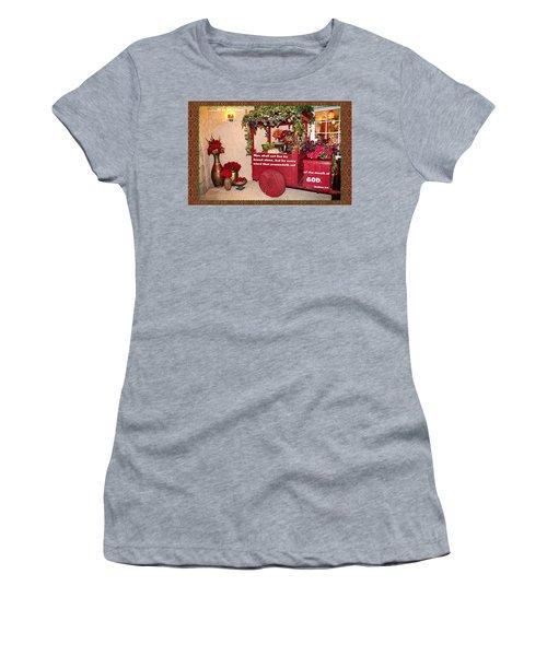 It Is Written Women's T-Shirt (Athletic Fit)