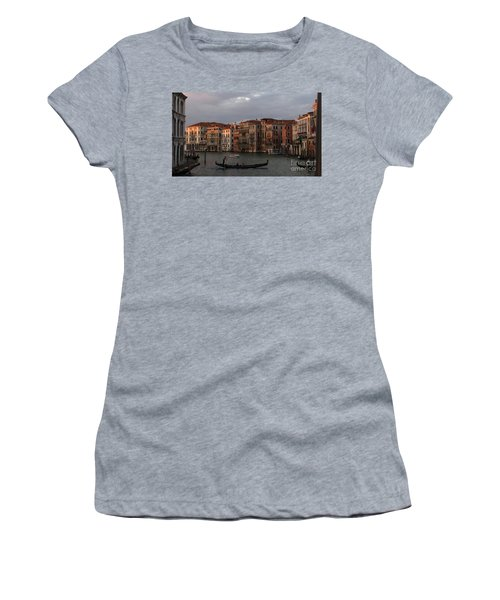 Italian Evening Women's T-Shirt (Junior Cut) by Jennifer Wheatley Wolf