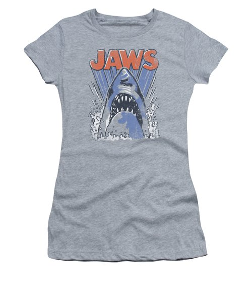 Jaws - Comic Splash Women's T-Shirt (Athletic Fit)