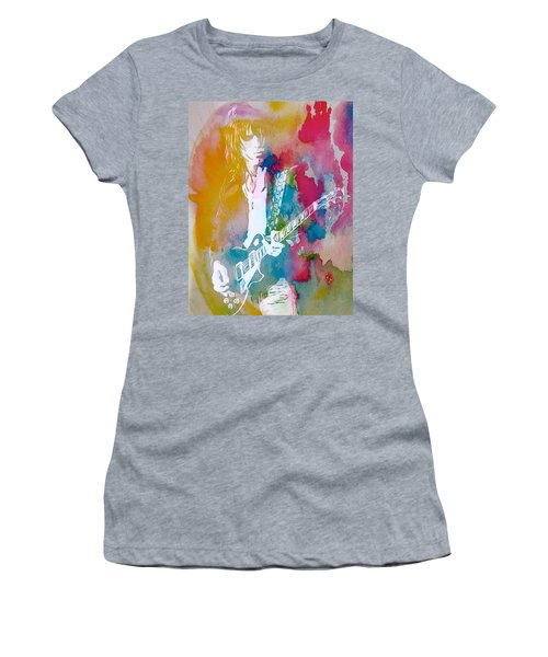 Jeff Beck Watercolor Women's T-Shirt