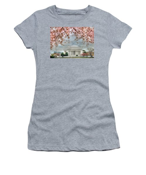Jefferson Blossoms Women's T-Shirt (Athletic Fit)