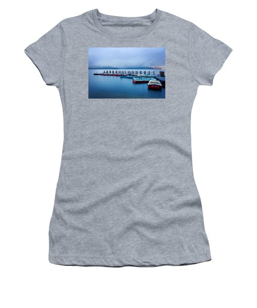 Jetty At Sun Moon Lake Women's T-Shirt