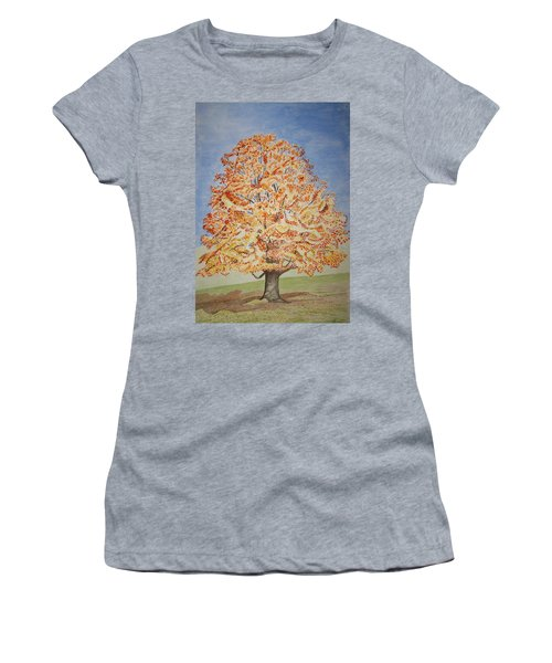 Jolanda's Maple Tree Women's T-Shirt (Athletic Fit)