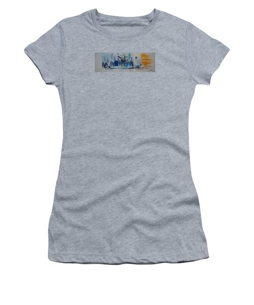 Just Another Day In New York City Women's T-Shirt (Athletic Fit)