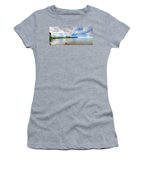 Kahaluu Fish Pond Panorama Women's T-Shirt