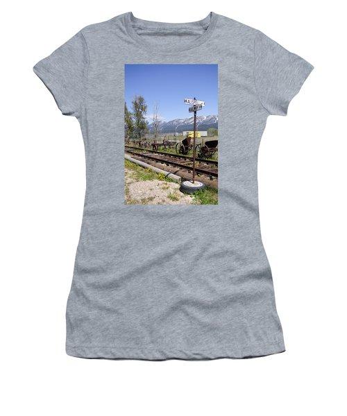 Kalispell Crossing Women's T-Shirt (Athletic Fit)