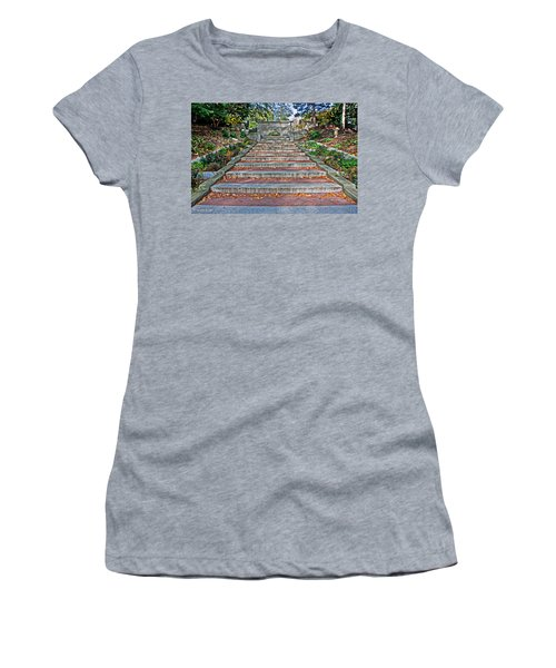 Kalorama Spanish Steps Women's T-Shirt (Athletic Fit)