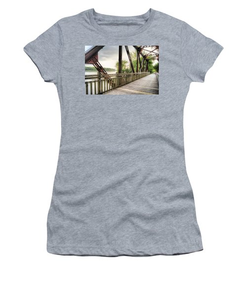 Katy Trail Near Easley Women's T-Shirt