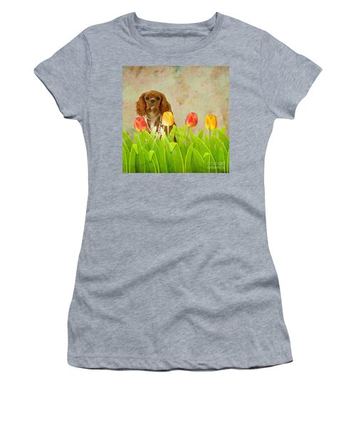 King Charles Cavalier Spaniel Women's T-Shirt (Athletic Fit)