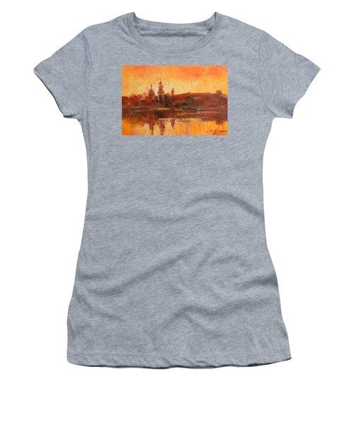 Krakow - Wawel Impression Women's T-Shirt (Athletic Fit)