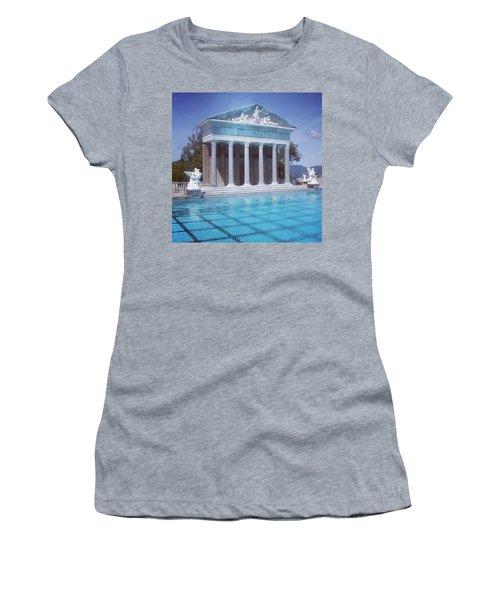 La Dolce Vita At Hearst Castle - San Simeon Ca Women's T-Shirt (Athletic Fit)