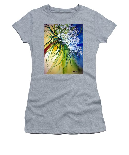 Lace Women's T-Shirt (Athletic Fit)