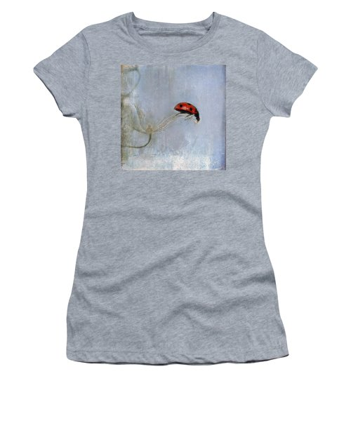 Lady In Red Women's T-Shirt (Athletic Fit)