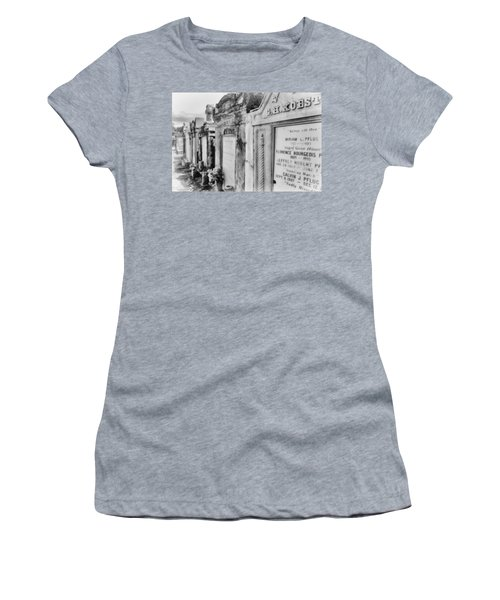 Lafayette Cemetery Black And White Women's T-Shirt