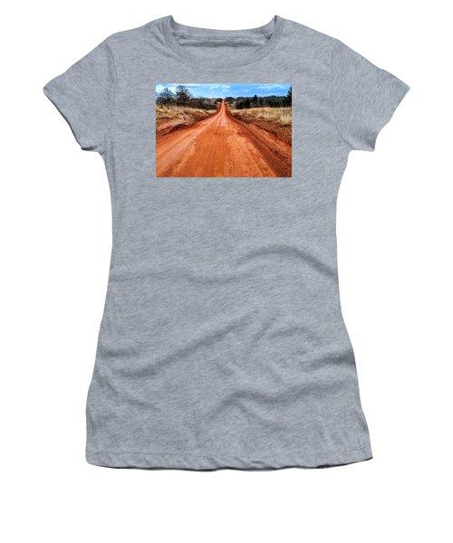 Land Run 100 Women's T-Shirt (Athletic Fit)