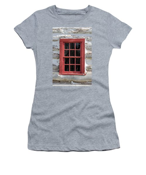 Landow Cabin Window Women's T-Shirt