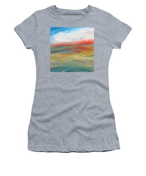 Landscape I Women's T-Shirt (Junior Cut) by Sheridan Furrer