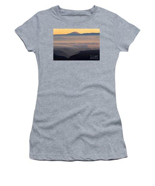 Last Light Over Mt. Adams Women's T-Shirt
